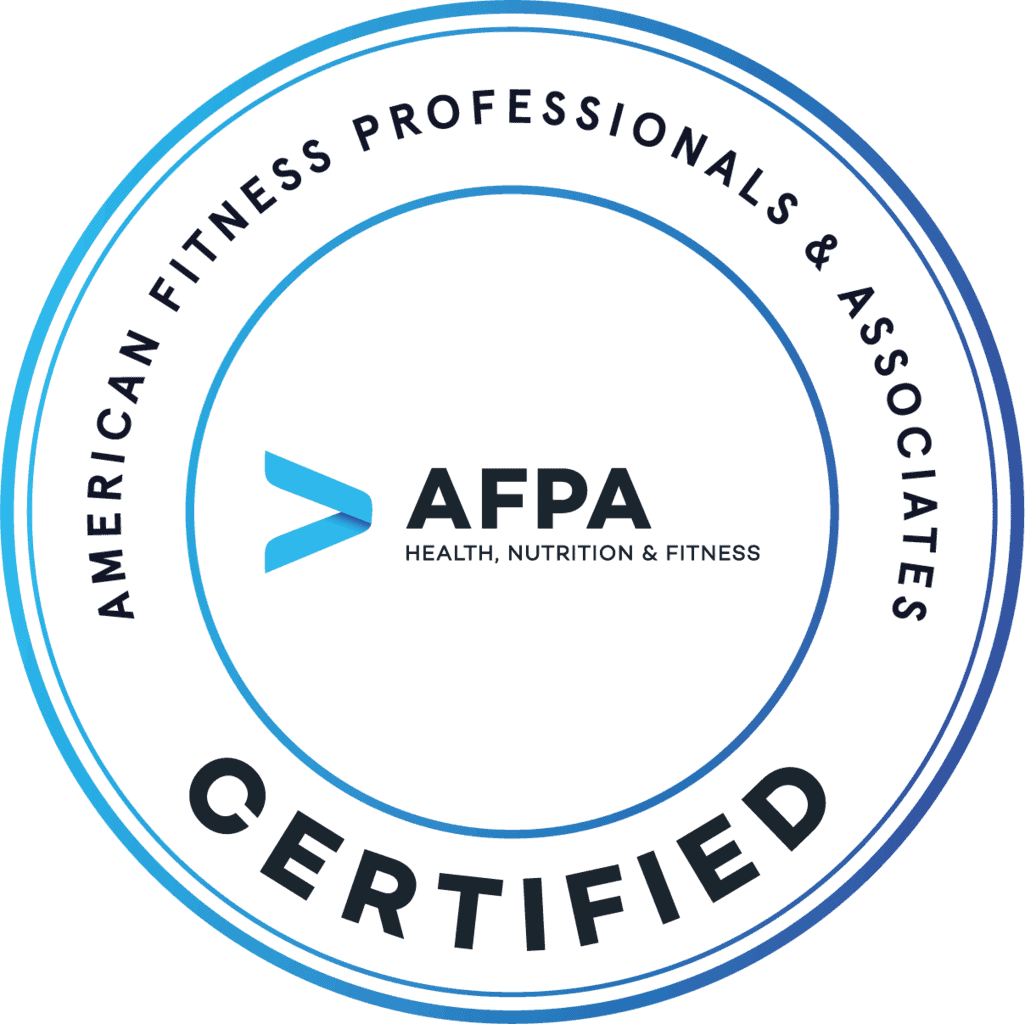 AFPA Certified Holistic Nutritionist