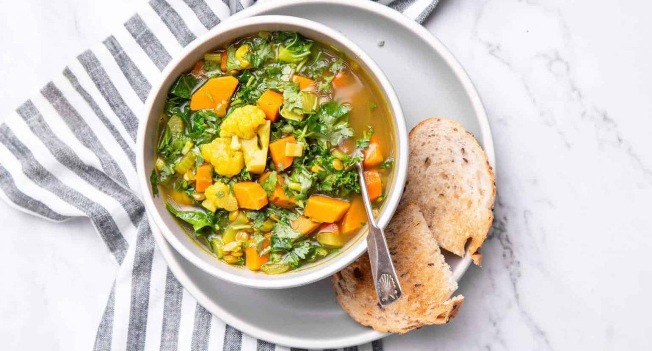 Moroccan Lentil Detox Soup-4